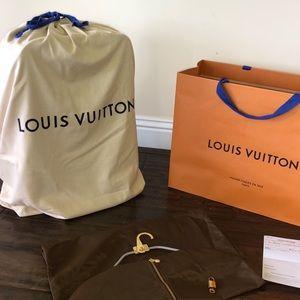 Louis Vuitton Ebene Pegase 55 carry-on+ RECEIPT